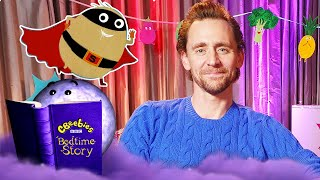 Bedtime Stories | Tom Hiddleston | Supertato | CBeebies