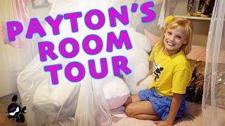 My FIRST Room Tour! Payton Delu Myler