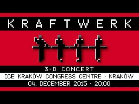 Kraftwerk - ICE Kraków Congress Centre, Kraków, 2015-12-04