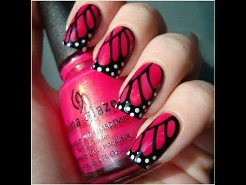 Stylish Nail Polish Design Aenny Beauty Tips Style Youtube