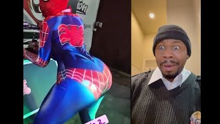 """When did Spider-Woman start """"Twerking"""" to stop crime?? 