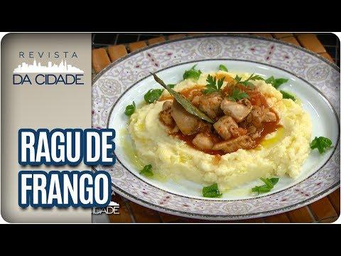 Ragu de Frango com Purê de Batata - Revista da Cidade (24/05/17)
