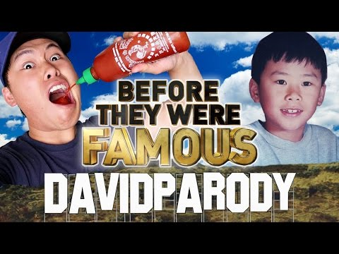 DAVIDPARODY - Before They Were Famous