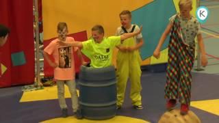 Circus TADAA bij 50 jarig jubileum Dirk van Dijkschool Kampen