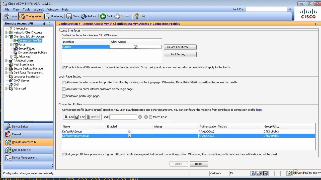 9 Ssl Vpn On A Cisco Firewall Youtube