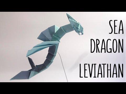 ORIGAMI SEA DRAGON LEVIATHAN (Anh Dao)