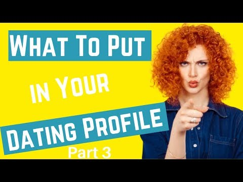 free dating profile examples