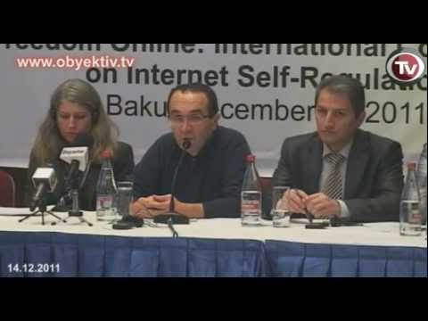 FREEDOM ONLINE: INTERNATIONAL CONFRENCE ON INTERNET SELF-REGULATION IN BAKU