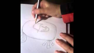 Как нарисовать Поппи из Angry Birds Stella(В этом видео я покажу вам, как нарисовать птичку, которая любит музыку, любит играть на барабанах, это птичка..., 2015-10-27T15:50:06.000Z)