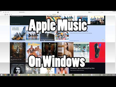 Apple Music On Windows 8.1