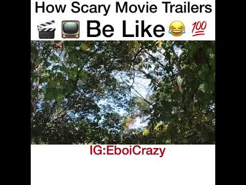 How Scary Movie Trailers Be Like