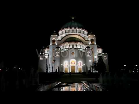 Orthodox Cathedral Of Saint Sava In Belgrade - Stock Footage | VideoHive 13097379