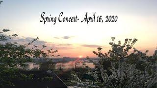 Thursday Lunchtime Concert- April 16, 2020