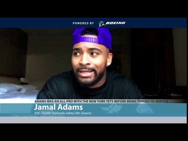 Jamal Adams on Becoming a Seahawk 2020-07-31