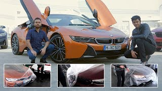 Unboxing India's first BMW i8 Roadster |  Supercars in India