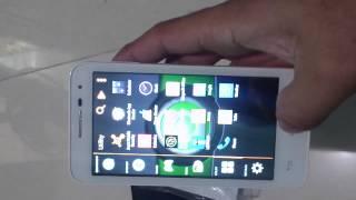 Alcatel one touch pop D5 unboxing