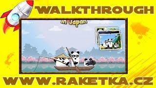 3 Pandas in Japan - Návod - Walkthrough