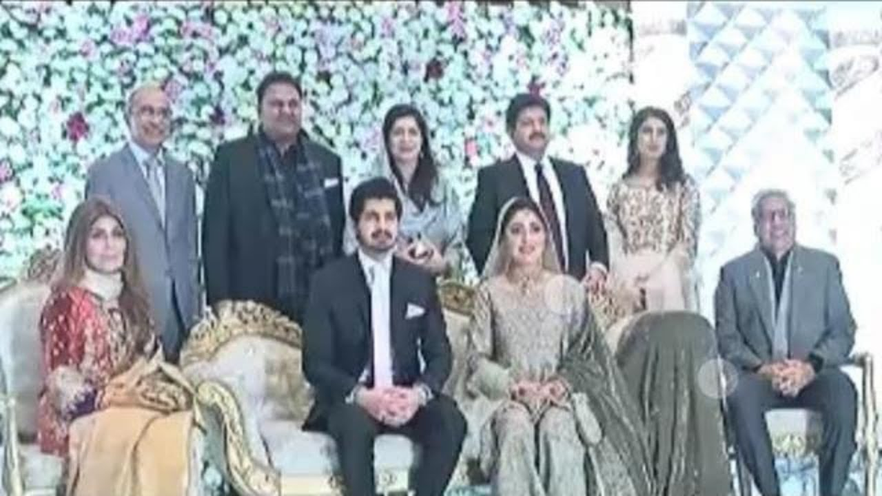 Hamid Mir Son Wedding United All Political Rivals