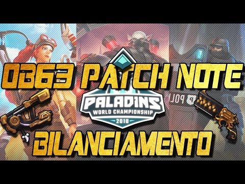 Paladins ITA | OB63 Patch Note - Gold Booster Weapon?