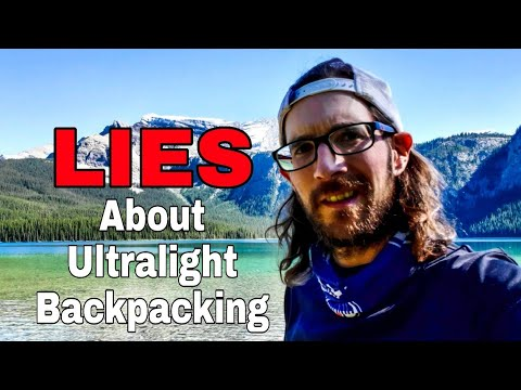 Base Weight Ultralight Backpacking And The Misconceptions Youtube