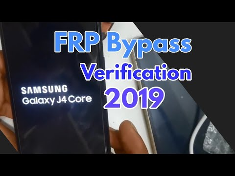 Samsung J4 Core Frp Bypass Without PC 2019