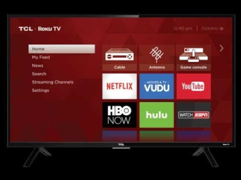 TCL ROKU TV Review 32s301