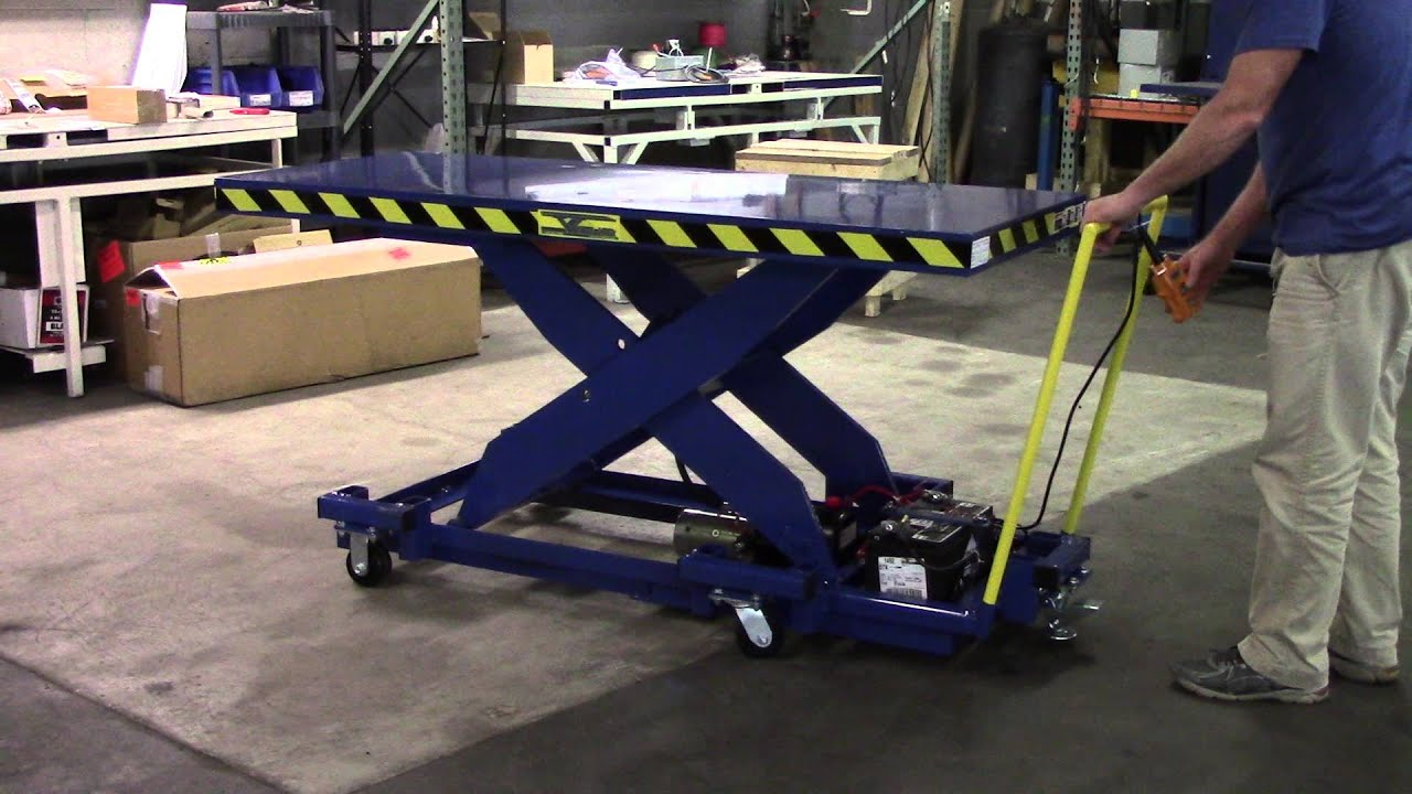 Portable Cadaver Scissor Lift With Rollers Mortech - Year of