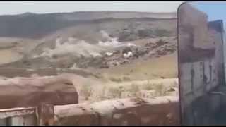 Dağda Kıstırılan PKK'lıların Vurulma Anları