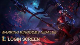 Warring kingdoms Nidalee login screen [FAN MADE]