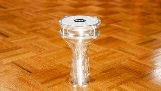 MEINL Percussion - Aluminium Darbuka, Hand Hammered - HE-110