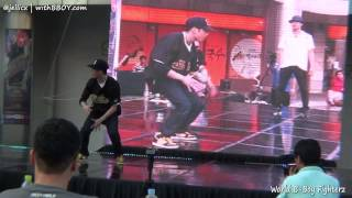 FE(w) vs CHO | Round16-7 | World B-Boy Fighterz 2012 @Gangnam