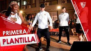 Acogedor recibimiento al Sevilla FC en Tanzania con sabor africano
