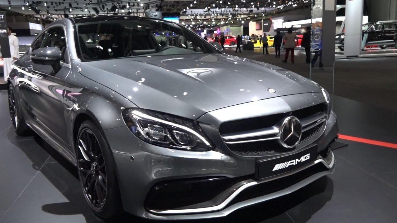 Mercedes C63 S AMG Facelift – Dubai Motor Show 2015 - YouTube