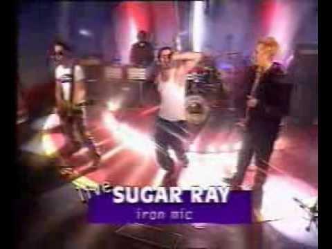 Sugar Ray - Iron Mic (live & interview swedish tv 1996)