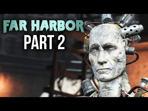 Fallout 4 Far Harbor Gameplay Walkthrough Part 2 - ACADIA