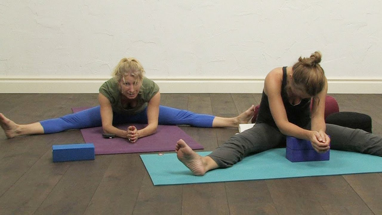 60 Minutes Yin Yoga For The Spine