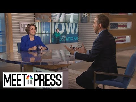 Full Klobuchar: Bloomberg's 2020 Candidacy, 'Can't Be All About Money' | Meet The Press