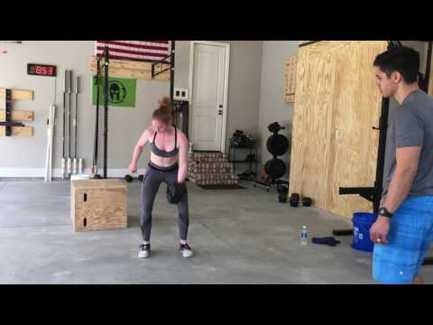 CrossFit Open Workout 17.1: Emily Ting