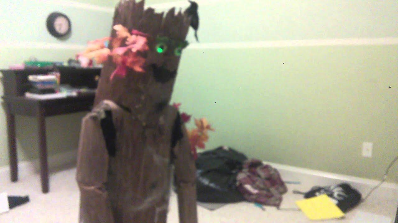 Epic Homemade Tree Costume