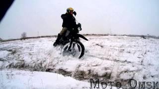 Мото.Омск.Зимний Дрифт №3