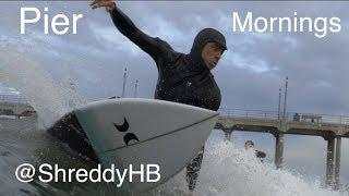 Southside Watershots. HB Pier Surfing | HD | Teddy navarro | Sage Guillando | Aquatech Waterhousing