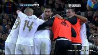 ريال مدريد - برشلونة 2-1 21/4/2012