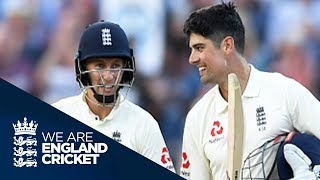 Cook And Root Score Centuries Under The Lights - England v West Indies 1st Test Day One 2017