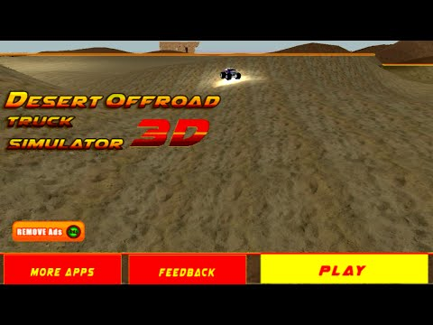 4x4 Desert Offroad Stunt Truck Gameplay (Android) (Best Moments)