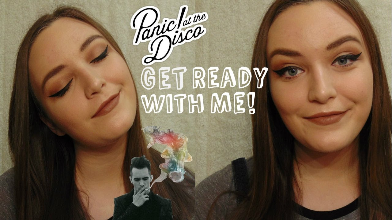 Get Ready With Me Panic At The Disco Concert Hair Makeup And