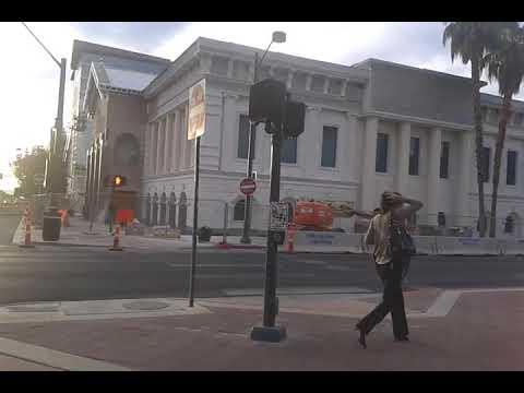 Vegas central business district: