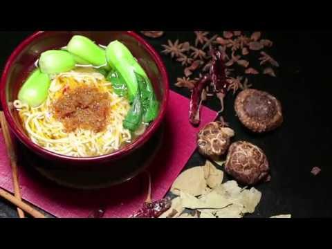 musim dingin paling cocok makan mie lamian | cara membuat mie lamian yang enak