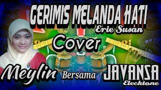 SUARA MERDU BIKIN BAPER GERIMIS MELANDA HATI (cover) MEYLIN OZAWA JAVANSA Elecktone