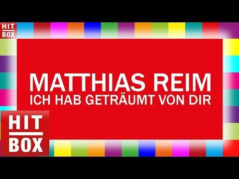 MATTHIAS REIM - Ich hab' geträumt von Dir 'HITBOX Lyrics Karaoke'