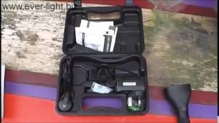 Демонстрация комплекта поставки светодиодного фонаря Led Lenser X7R